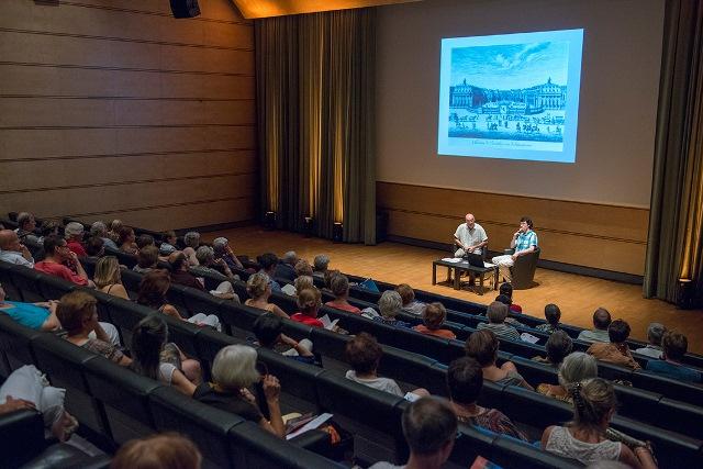 Conférence sur Blanchard au Corum