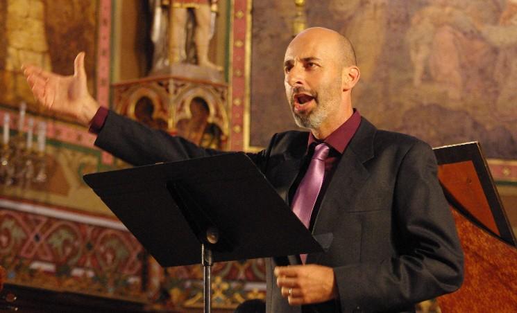 Jean-Manuel Candenot, L'Amour et Bacchus, festival Musique en vignes, 2009 © A.M.