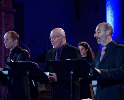 Magnificat de Charpentier. Motet pour 3 voix d'hommes.
