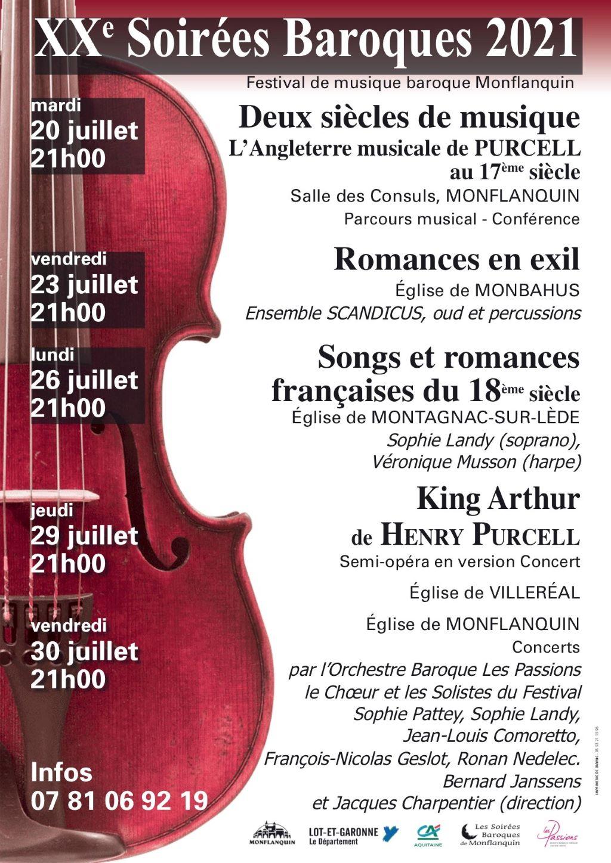 Soirées Baroques en Lot-et-Garonne